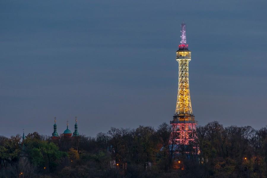 Torre Petrin di Praga