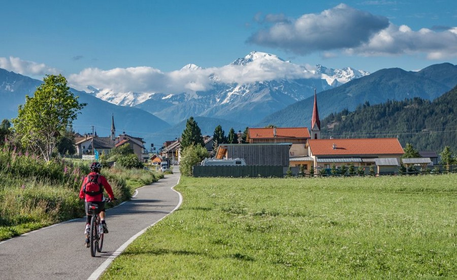 Viaggio in e-bike: comodità