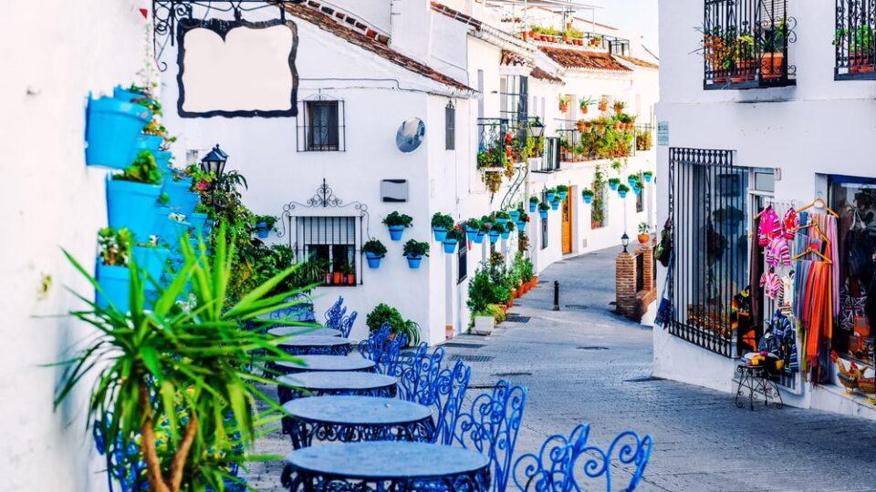village in Andalusia, Costa del Sol